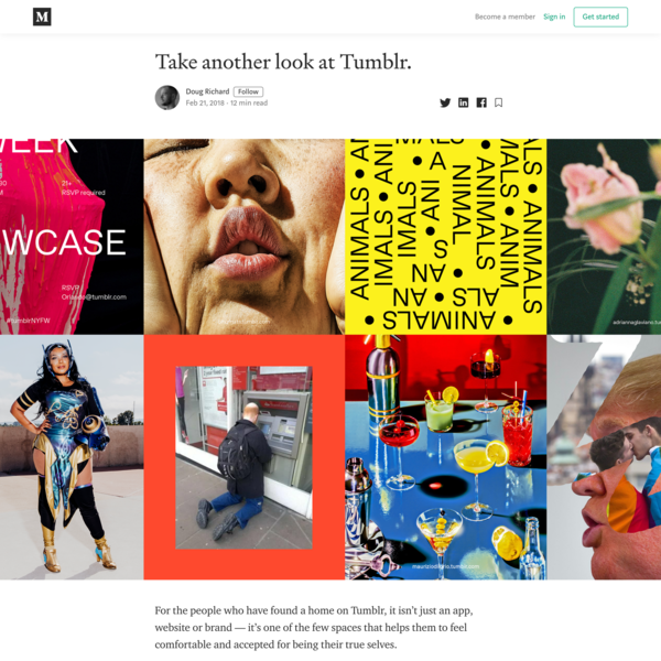 Take another look at Tumblr.