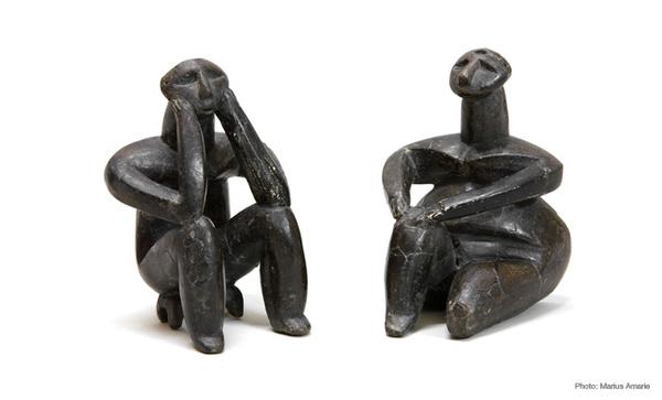 Hamangia, Cernavod, Romania. 5000–4600 BC figures