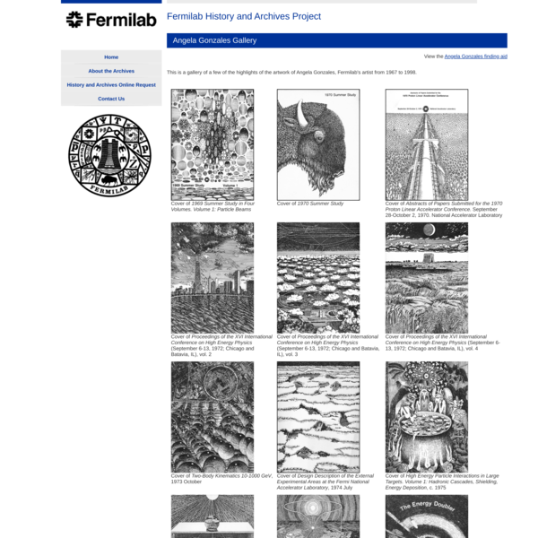 Fermilab History and Archives Project | Angela Gonzales Gallery