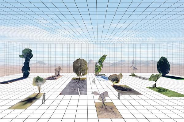 Jacqueline Wu - Artificial Arboretum