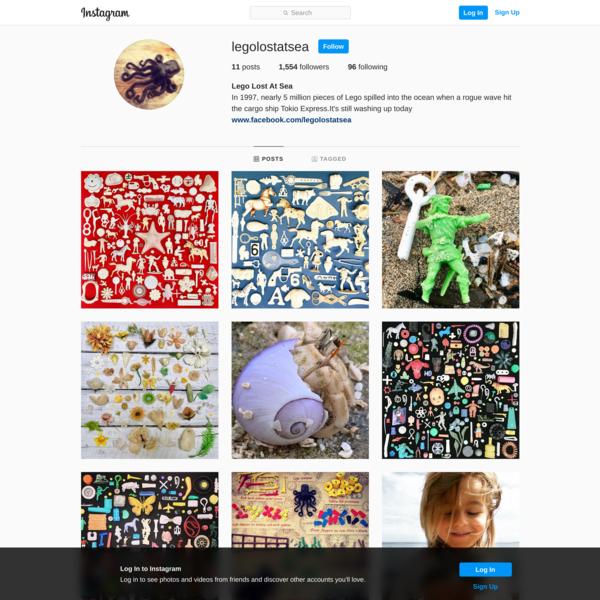 Lego Lost At Sea (@legolostatsea) • Instagram photos and videos