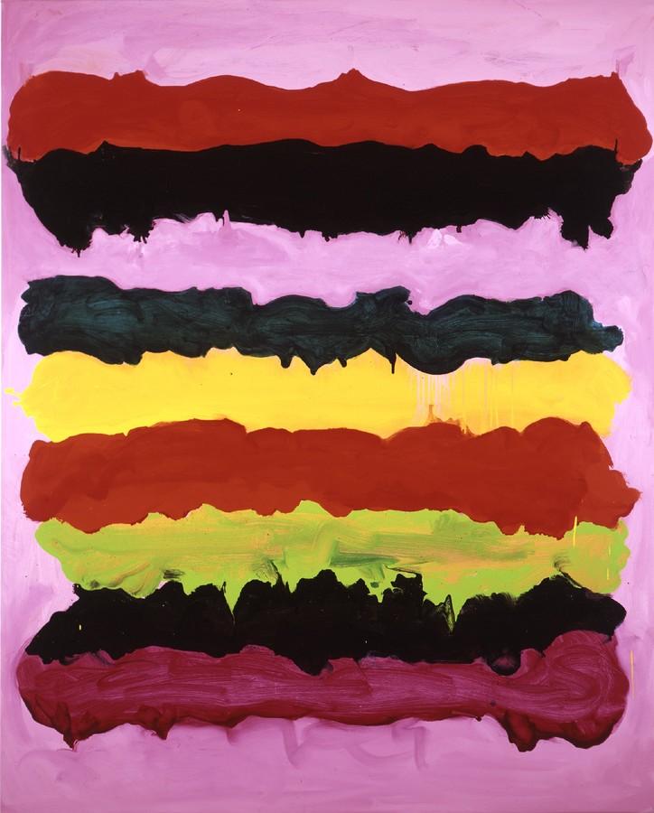 Mary Heilmann, Surfing on Acid (2005)