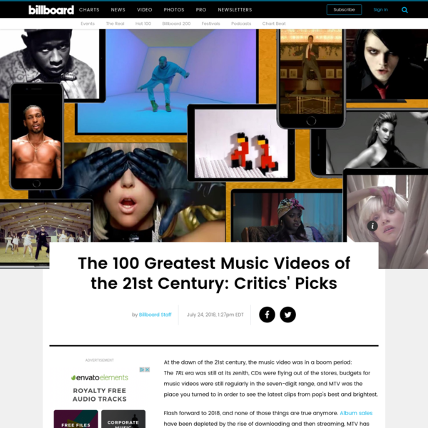 Best Music Videos Since 2000: Billboard Critics Pick 100 | Billboard