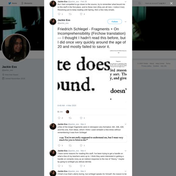 Jackie Ess on Twitter