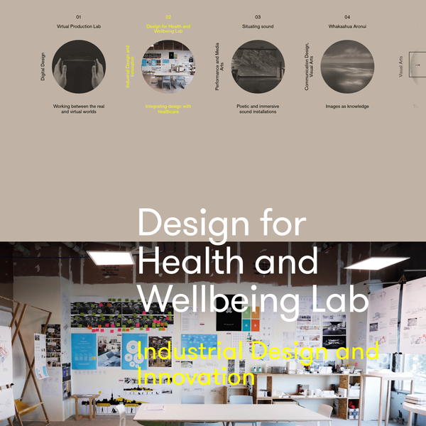 Design for Health and Wellbeing Lab | AUT