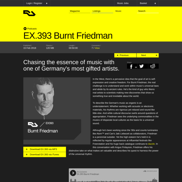 EX.393 Burnt Friedman