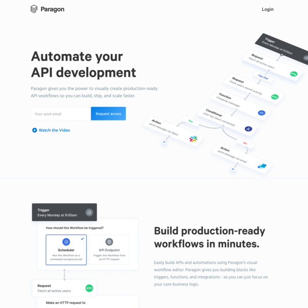 Paragon - Automate your API development