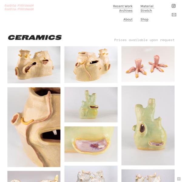 Ceramics - Sasha Fishman