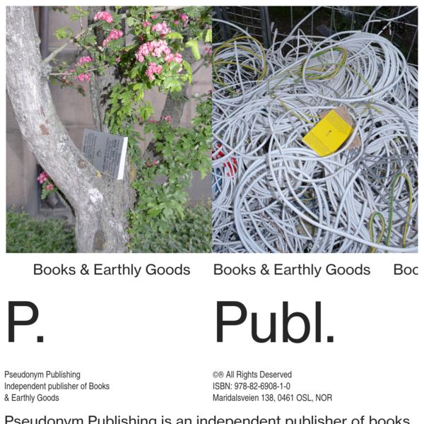 Pseudonym Publishing