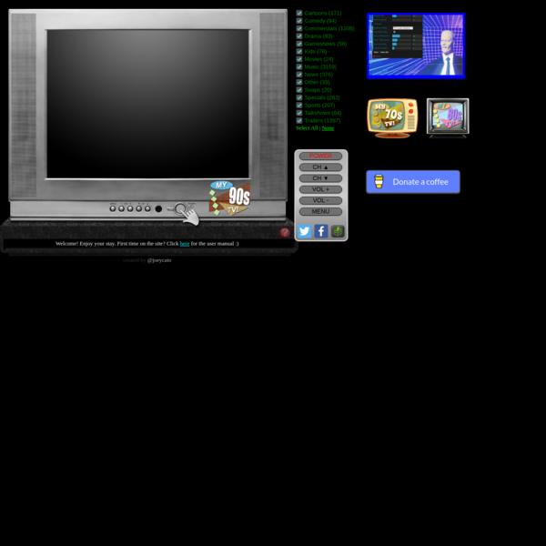 My 90's TV!