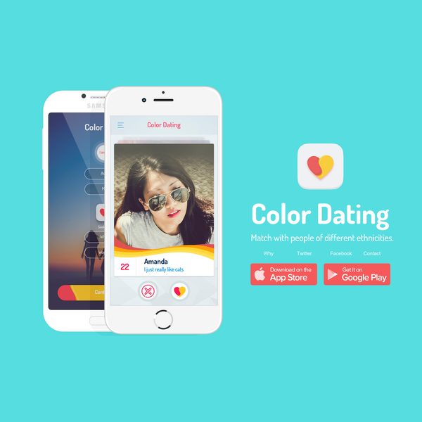 Color Dating - Match with people of different ethnicities