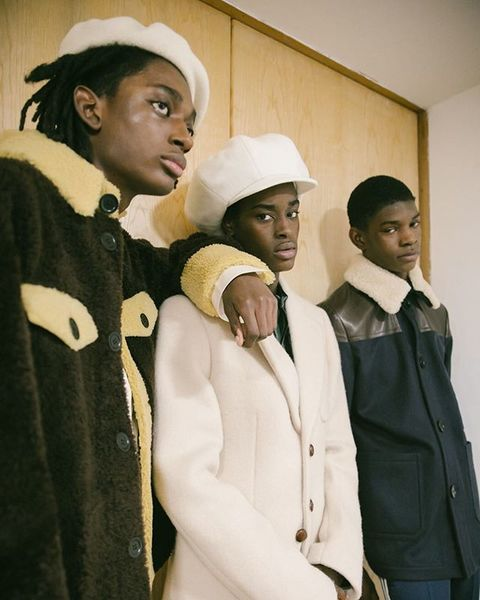 Lovers Rock, Wales Bonner AW20 . Ruff Tuff and ready . Style, Tom Guinness . Beauty // Cyndia Harvey , Lauren Parsons at Art...