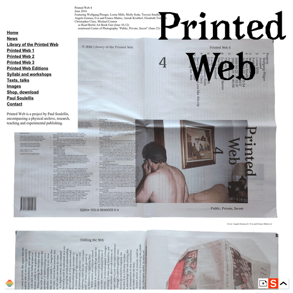 Printedweb.org