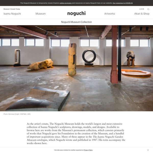 Collection - The Noguchi Museum