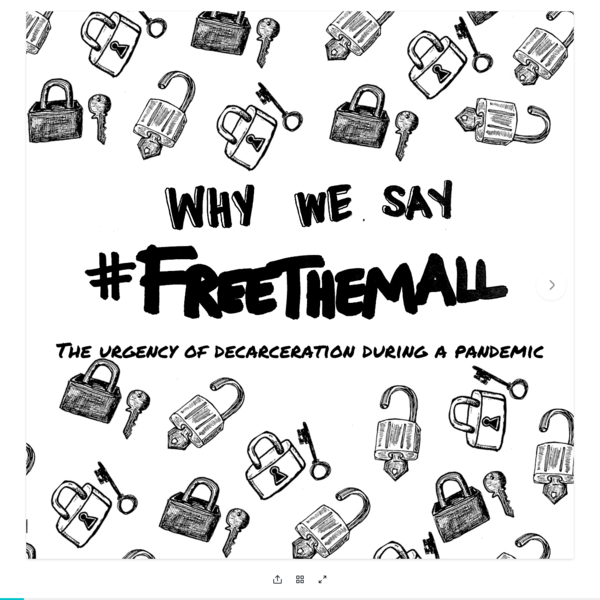 Why we say #FreeThemAll