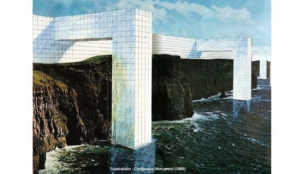 Superstudio - Continuous Monument (1969)