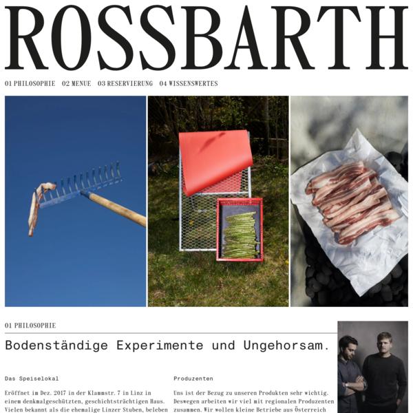 Rossbarth Speiselokal