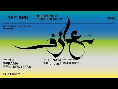 june as (Frequent Defect) | Boiler Room: Streaming From Isolation with Ma3azef