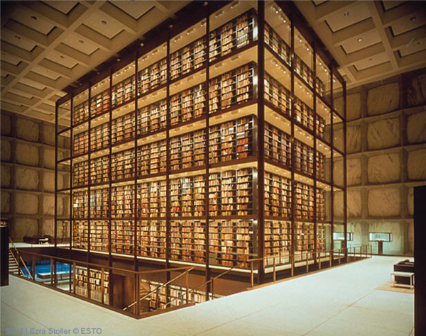 Yale, Beinecke Rare Book Manuscript Library
