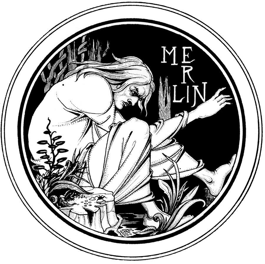 Aubrey Beardsley, Merlin