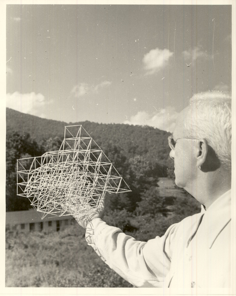 From the Black Mountain College Research Project Papers, Visual Materials, North Carolina State Archives, Raleigh, NC.