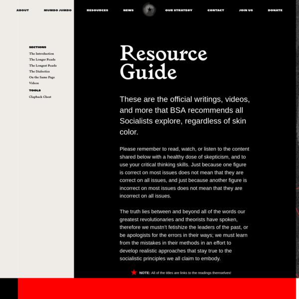 BSA - Resource Guide