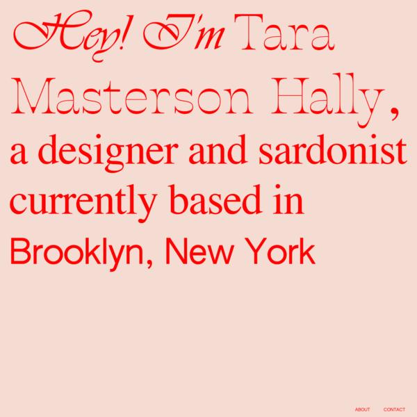 Tara Masterson Hally