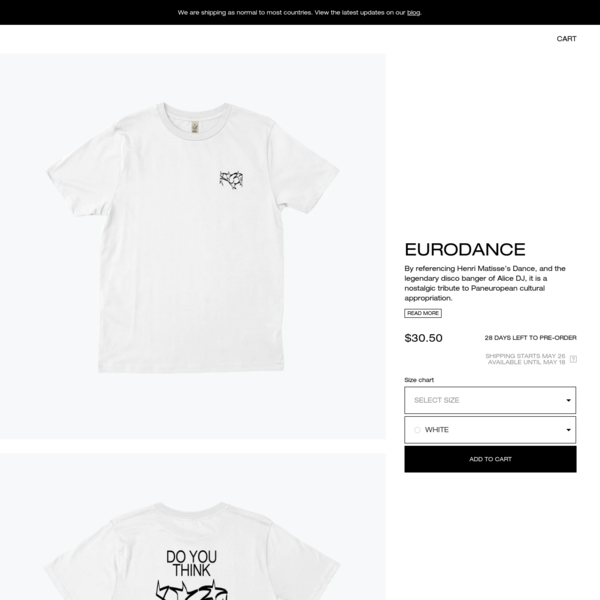eurodance apparel | Everpress