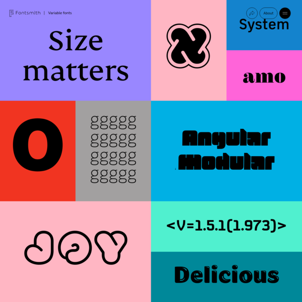 The Benefits and Uses of Variable Fonts | Interactive Microsite