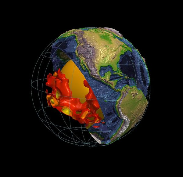 Massive 'Lava Lamp' Blobs Deep Inside Earth Have Scientists Puzzled