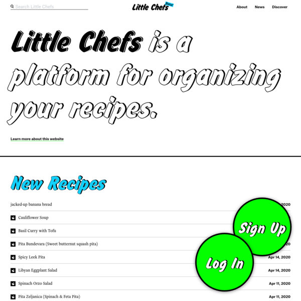 Users - Little Chefs
