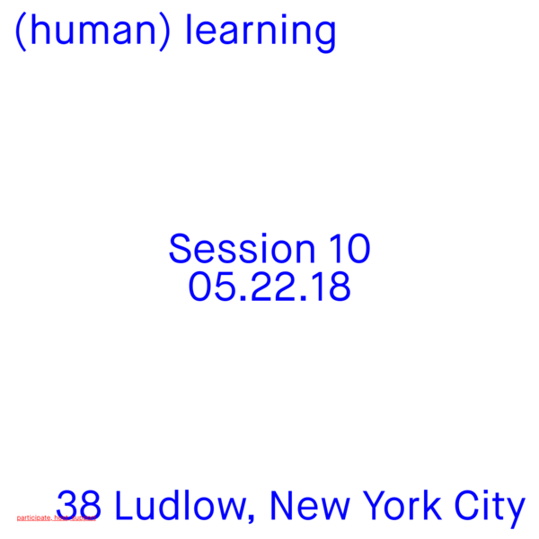 (human) learning