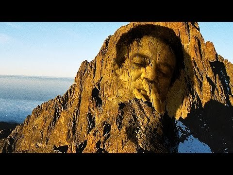Photoshop Tutorial: How to Carve a Face into a Mountain