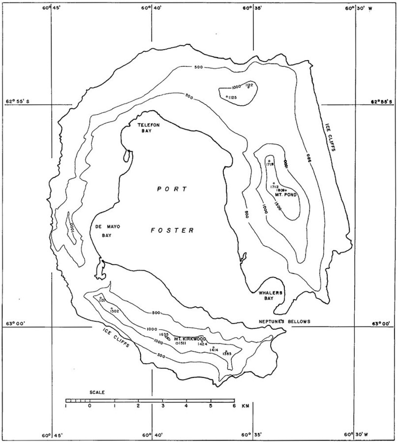 Port Foster Topo Map