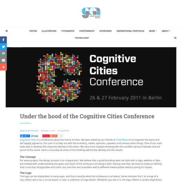 Under the hood of the Cognitive Cities Conference | Graphic Art News