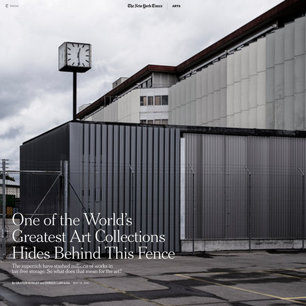 One of the World's Greatest Art Collections Hides Behind This Fence