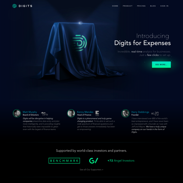 Digits - The most powerful financial engine for modern businesses