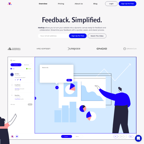 MarkUp | Easiest way to leave collaborative feedback on digital content