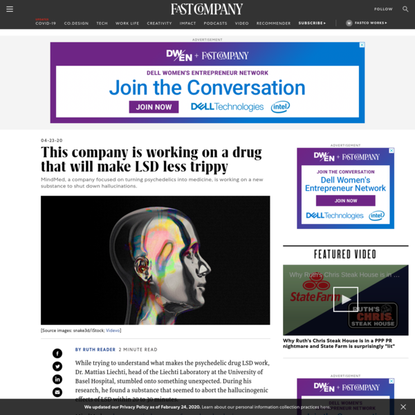 MindMed wants to develop a drug to help end a bad LSD trip
