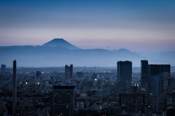 Fujisan in Tokyo