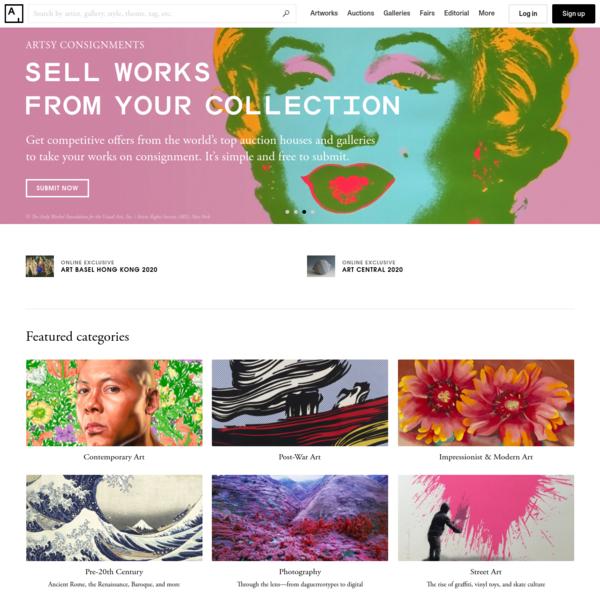Artsy - Discover & Buy Art