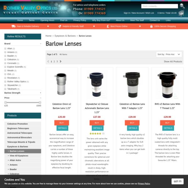 Barlow Lenses