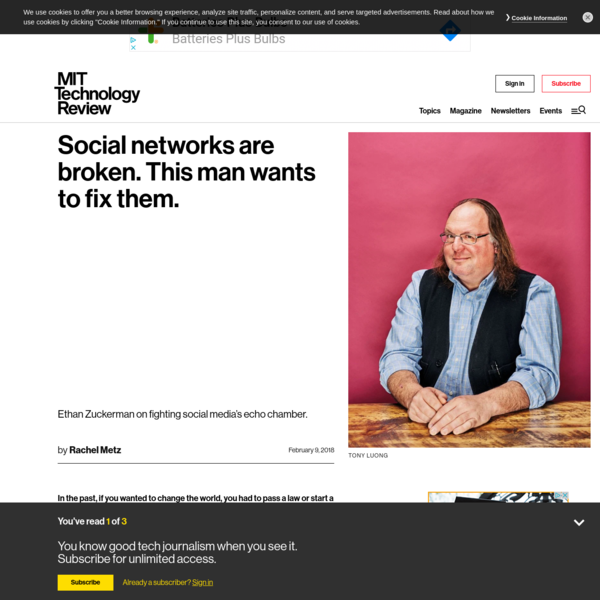 Social networks are broken. This man wants to fix them.