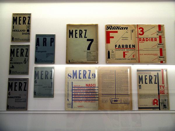 Merz periodical by Kurt Schwitterz. 1922-1932