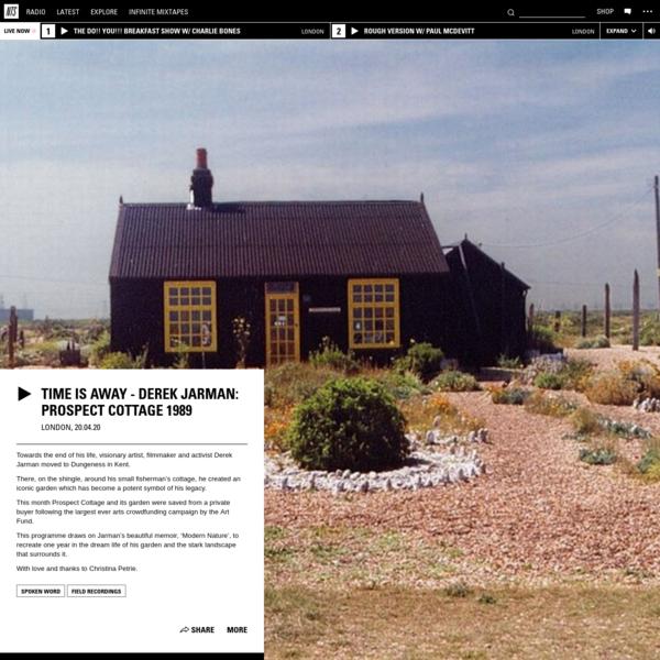 Time Is Away - Derek Jarman: Prospect Cottage 1989 20th April 2020