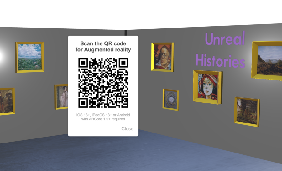 Unreal Histories Augmented Reality