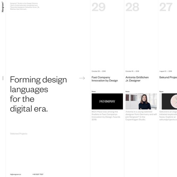 Norgram - Design Studio