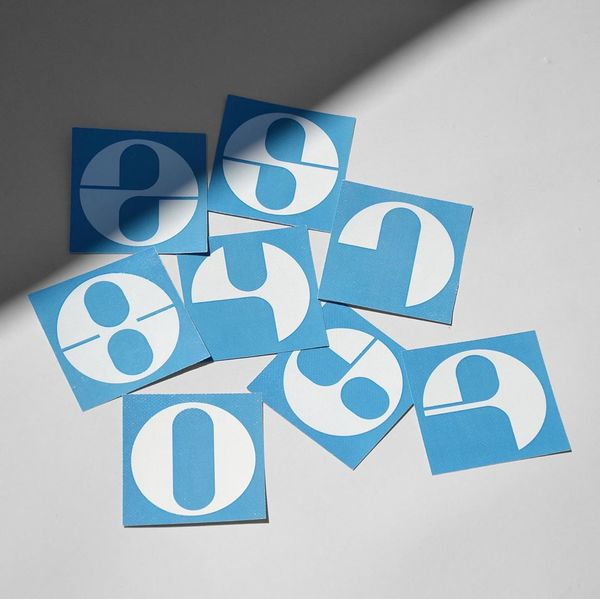 Some print of a new modular typeface Tondo. Tondo means circle and it is a personal research on a modular typeface based on ...