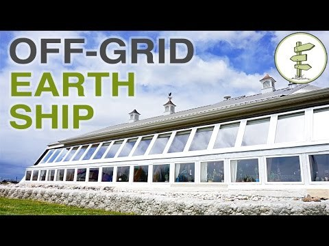 Super Efficient Off-Grid Earthship Built for Early Retirement Plan