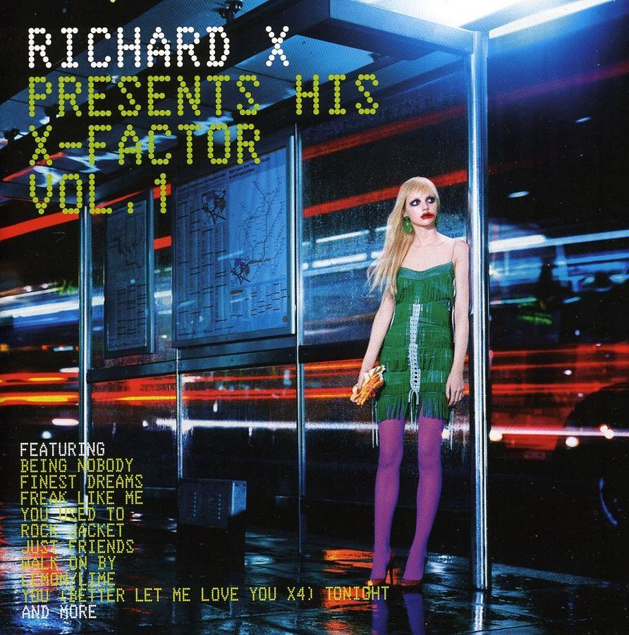 Richard X - Richard X Presents His X-Factor Vol. 1